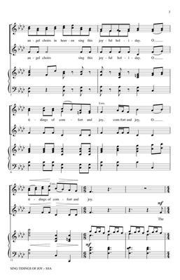 Sing Tidings of Joy: Arr. (Emily Crocker): SSA