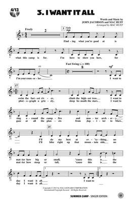 John Jacobson: Summer Camp: Mixed Choir a Cappella