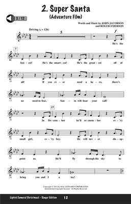 John Jacobson: Lights! Camera! Christmas!: Mixed Choir a Cappella