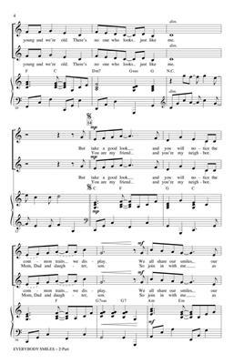 Cristi Cary Miller: Everybody Smiles: 2-Part Choir