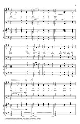 Hal Leonard: Adeste Fideles