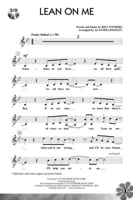 Let's All Sing Songs of the '70s: Arr. (Alan Billingsley): Vocal Solo
