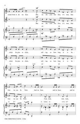 Cristi Cary Miller: The Christmas Clock: 2-Part Choir