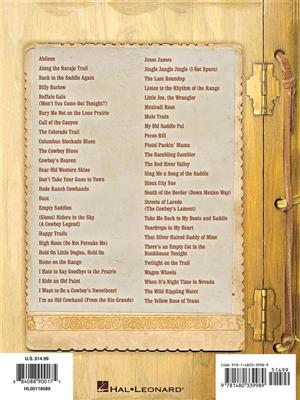 Cowboy Songs for Ukulele: Ukulele