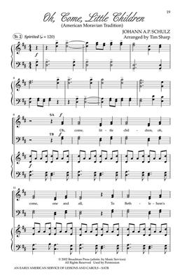 An Early American Service of Lessons and Carols: Arr. (Tim Sharp): Mixed Choir