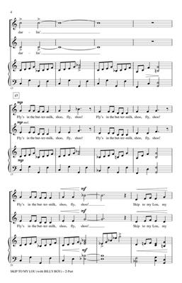 Skip to My Lou: Arr. (John Purifoy): 2-Part Choir
