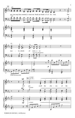 John Purifoy: Words of Lincoln: SATB