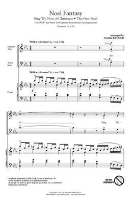 Mark Brymer: Noel Fantasy: Mixed Choir