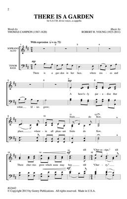Robert H. Young: There Is a Garden: SATB