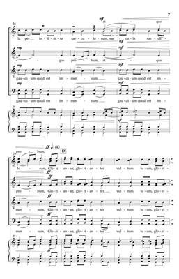 Ola Gjeilo: Ubi Caritas II: Through Infinite Ages: Mixed Choir a Cappella