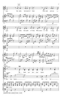 Andrew Peterson: Behold the Lamb of God: Arr. (Keith Christopher): SATB