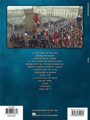Alain Boublil: Les Miserables - Solos From The Movie: Violin