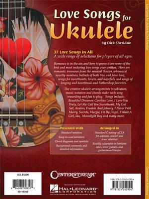 Dick Sheridan: Love Songs For Ukulele: Ukulele