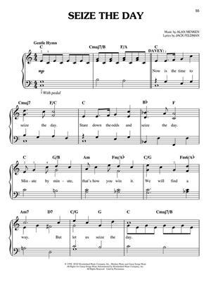 Alan Menken: Newsies: Easy Piano