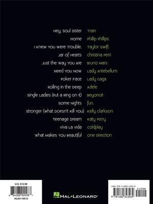 14 Pop Hits: Piano
