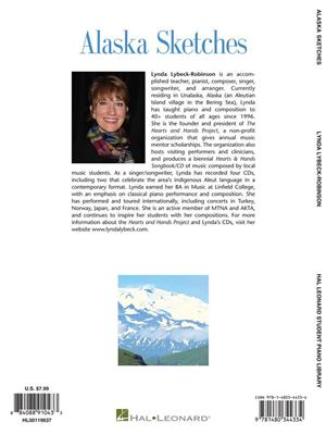 Lynda Lybeck-Robinson: Alaska Sketches: Piano