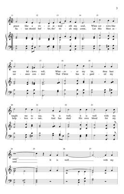 It Is Well with My Soul: Arr. (Johnnie Carl): SATB
