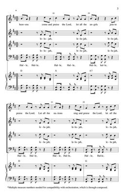 Clayton J. Schmit: Let All the Heavens Praise!: SATB
