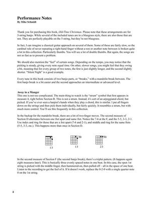 Old-Time Christmas: Banjo