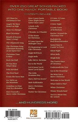 Christmas Ukulele Fake Book: Melody, Lyrics & Chords