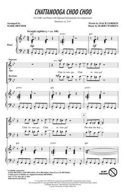 Mark Brymer: Chattanooga Choo Choo: Mixed Choir