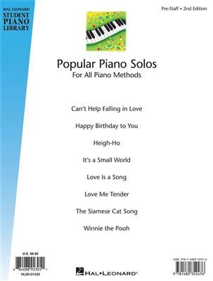 Fred Kern: Popular Piano Solos - Prestaff Level 2nd Edition: Piano or Keyboard