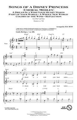 Songs of a Disney Princess: Arr. (Mac Huff): 2-Part Choir