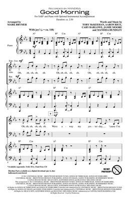 Mandisa: Good Morning: Mixed Choir