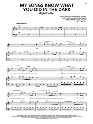 Fall Out Boy: Fall Out Boy - Save Rock and Roll: Piano, Vocal, Guitar