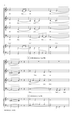 Michelle: Arr. (Paris Rutherford): SATB