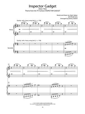 Double Agent! Piano Duets: Arr. (Jeremy Siskind): Piano Duet