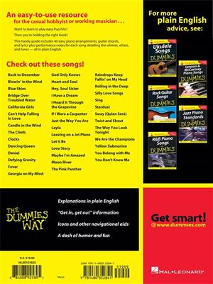 Easy Piano Songs for Dummies: Easy Piano