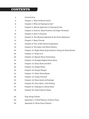 Todd Lowry: How to Play Blues Piano by Ear: Piano or Keyboard