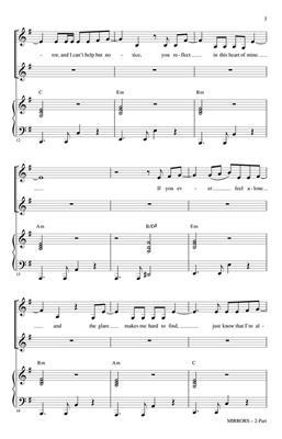 Justin Timberlake: Mirrors: Arr. (Mac Huff): 2-Part Choir