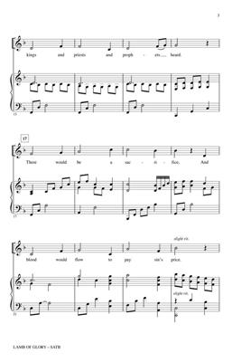 Greg Nelson: Lamb of Glory: Arr. (Keith Christopher): SATB