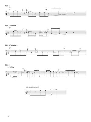 Joshua Ray: Lead Guitar Licks: Guitar or Lute