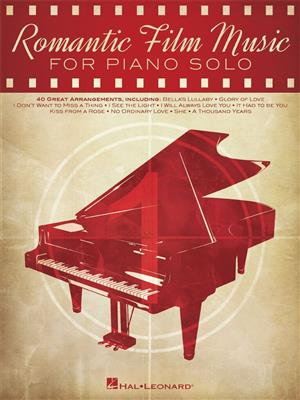 Romantic Film Music: Piano, Vocal and Guitar (songbooks)