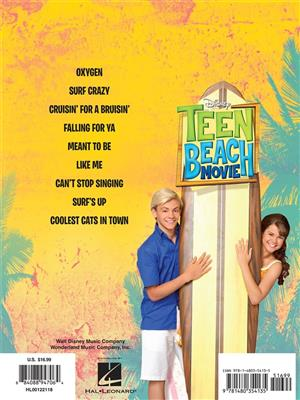 Teen Beach Movie: Piano, Vocal and Guitar (songbooks)
