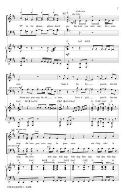 Jackson 5: The Jackson 5 (from Motown The Musical): Mixed Choir