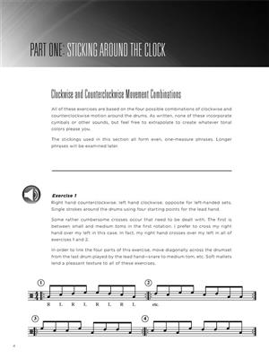Melodic Motion Studies for Drumset: Drum Kit