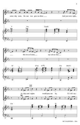 Paul McCartney: My Valentine: Arr. (Ed Lojeski): SSA