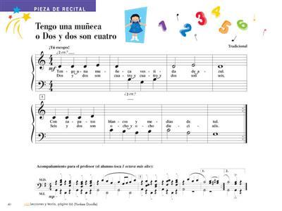 Piano Adventures: Técnica e Interpretación Nivel 1