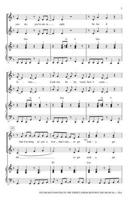 Ivy Hunter: Get Ready/Dancing In The Street: Arr. (Roger Emerson): SATB
