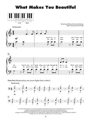 Pop Hits for Five-Finger Piano: Piano