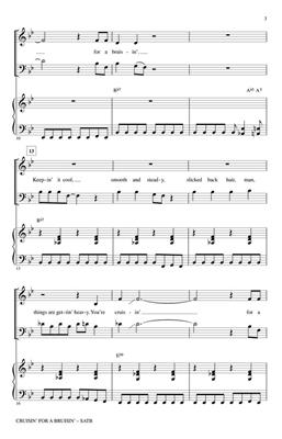 Cruisin' for a Bruisin': Arr. (Mac Huff): SATB