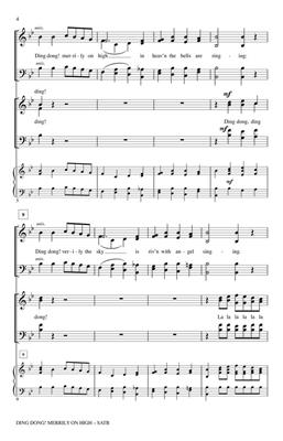 Ding Dong Merrily on High: Arr. (Philip W. J. Stopford): SATB