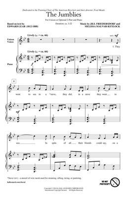Jill Friedersdorf: The Jumblies: 2-Part Choir