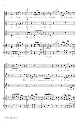 Wolfgang Amadeus Mozart: Kyrie (from The Mass In B-flat Major #1): Arr. (Arkadi Serper): Treble Voices