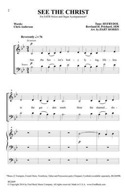 Hyfrydol: See the Christ: Arr. (Hart Morris): Mixed Choir