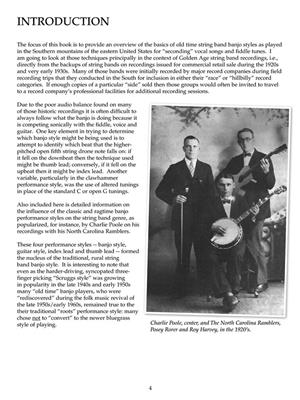 Old Time String Band Banjo Styles: Banjo or Mandolin